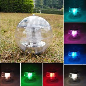 Waterproof Outdoor Solar Color Changing LED Floating Landscape Lights Ball Pond