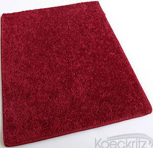 Real Red Indoor Area Rug Carpet Living Room Dining Room Bedroom Many Sizes