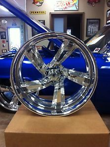 "Brand New 24"" in Billet Raceline Intro Cadillac Chevrolet 22"" inch Rims Wheels"