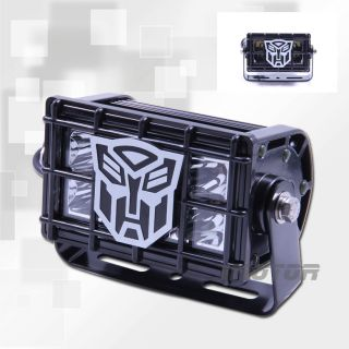 "Transformer Logo 4"" Tuff Hi Intensity LED Off Road Light Single"