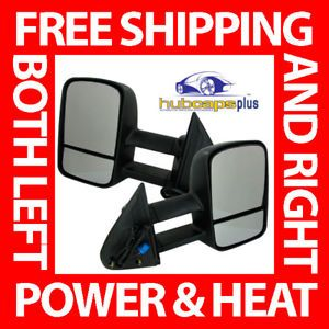 Chevrolet GMC Truck Power Heated Towing Mirrors Kit