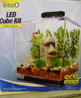 New Tetra 3 Gallon Desktop Aquarium Kit with LED