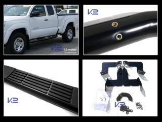 "05 12 Toyota Tacoma 3"" Access Cab s s Black Side Step Nerf Bar Running Boards"