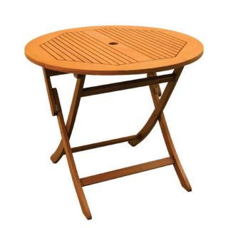 Royal Tahiti Outdoor Furniture 36 inch Round Folding Table