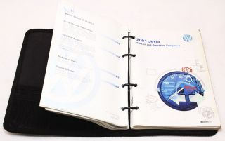 2000 VW Jetta Owners Manual Book Booklet Info MK4 Volkswagen Genuine OE