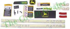 John Deere Gator 4x2 Decal Kit for SN Below 21 061