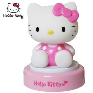 Hello Kitty 3D Kids Child Baby Pushlight Night Glow Light with Auto Off Function