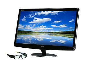 Acer HN274H Bmiiid 3D 27 inch LCD LED Computer Monitor Display
