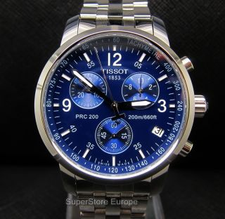 Tissot PRC 200 Chronograph T17 1 586 42 T Sport Mens Swiss Watch