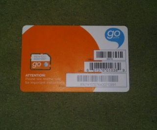 New at T Prepaid Go Phone 4G 3G 2G Micro Sim Card Never Activated