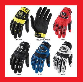 Fox Racing Dirtpaw Full Finger Gloves Mitts Size M L XL Cycling Motocross MTB