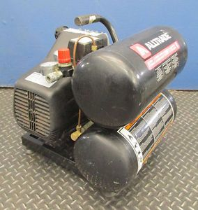 Alltrade 5gal Twin Tank Portable Air Compressor