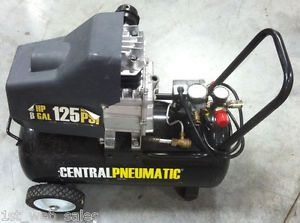 Portable Hot Dog Air Compressor 2 Horsepower HP 8 Gallon 125 PSI 10 5 Roofing