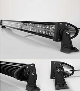 "40"" 240W Spot Off Road LED Light Bar 40 inch Super White Jeep Truck Boat SUV"