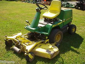 Used John Deere F725 Front Mount Riding Mower Liquid Cooled 54in Deck