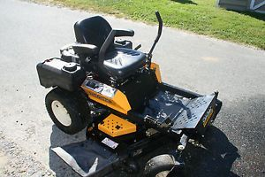 Cub Cadet Enforcer 48 Commercial Zero Turn Riding Lawn Mower Low Hours