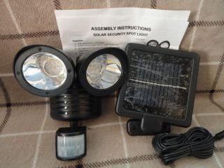 Solar Security 22 LED Spot Light with Motion Detector