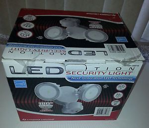 Lithonia LED Security Flood Light Outdoor Sensor and Motion Detector Return 5