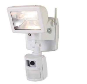 Motion Light with Security Camera