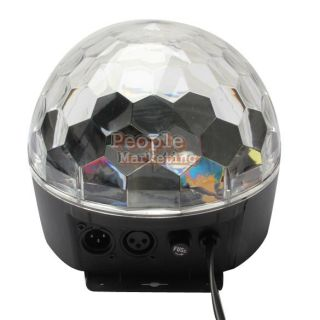 P4PM Crystal Magic Ball Effect Disco Stage LED Lighting DMX Control Panel Party
