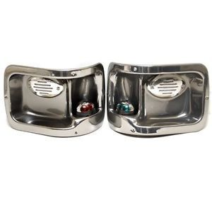 Pontoon Boat Port STBD Running Lights Pods Horn