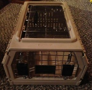 Nylabone Travel Collapsible Carrier Folding Pet Dog Cat Crate Kennel