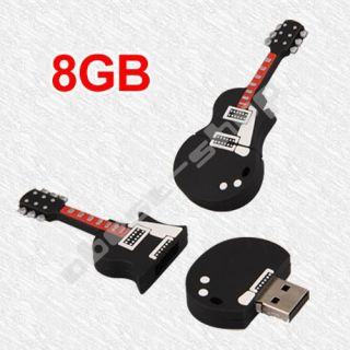 Guitar USB 2 0 8GB 8g Flash Memory Stick Pen Drive for Win XP Vista 7
