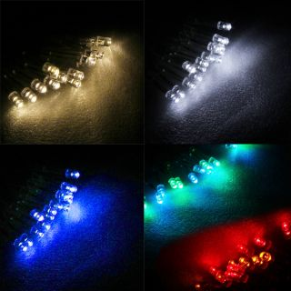 12 100M LED String Fairy Light Party Xmas Wedding Decoration Solar Baterry Elect
