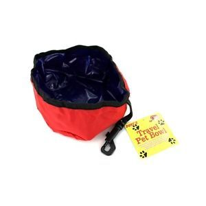 Portable Folding Travel Pet Collapsible Nylon Bowl Dog Cat Water Food Dish Pets