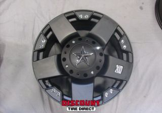 4 Used 18x9 5x150 5 150 XD Rockstar Black Wheels Rims