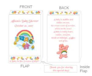 Care Bears Baby Shower Pacifier Candy Favors