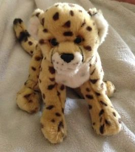 Webkinz Signature Cheetah Leopard Cat Jaguar No Code Plush Stuffed Animal