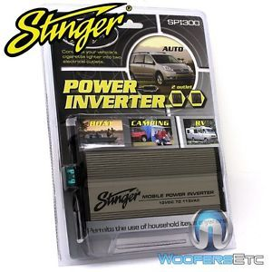 Stinger SPI300 Car Boat Cigarette Lighter 600W Power Converter Inverter 2 Outlet