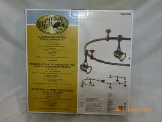 Hampton Bay 904270 Flexible Voltage Track Lighting Light Kit Antique Bronze 749T
