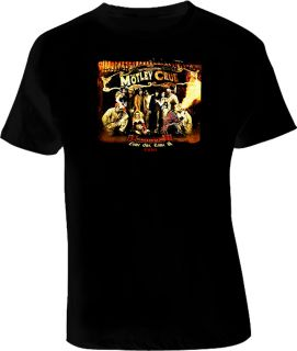 Motley Crue Tour Shirt
