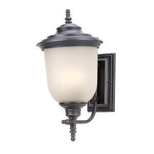 Hampton Bay 253536 Chelsea Collection 2 Light Outdoor Wall Mount Light