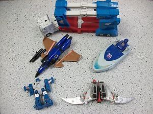 Transformers G1 Parts Lot of Base Figures with No Accessories Vintage Magnus Etc