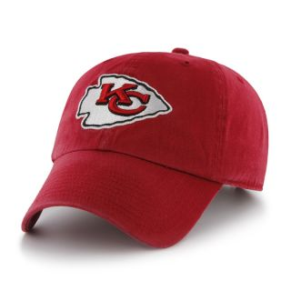 Kansas City Chiefs NFL Football Red Clean Up Slouch Crown Hat Cap New