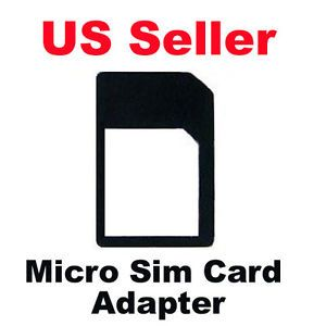 Micro Sim Card Adapter Adaptor Converter for T Mobile ATT Sprint Verion iPhone