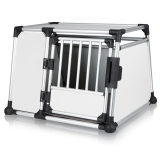 Trixie Pet Extra Large Metal 1 Door Portable Dog Kennel Cage Mobile Travel Crate