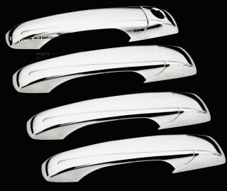 2008 2013 Chrysler Town Country 4 Chrome Door Handle Covers No PSKH