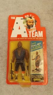 The A Team Mr T Action Figure w Full Set Action Acessories Galoob 1983 SEALED