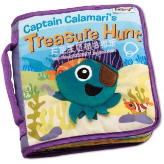 New Baby Kid Child Lamaze Octopus Pirate Captain Treasure Hunt Cloth Book