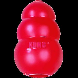 Kong Classic Red Original Rubber Dog Chew Toy Strong XXL XL Large Medium Small