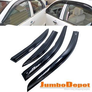 03 08 Mazda 6 Sedan Vent Window Shade Visor Rain Guard