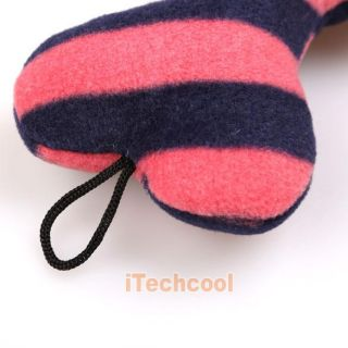 Pet Dog Puppy Cat Animal Squeaky Squeaker Sound Toy Chews Cotton Wool Bone Hot