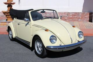 1970 Volkswagen Beetle Long Time California Car Excellent Condition Great Driver