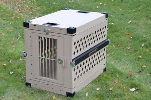 Large Collapsible Dog Crate Factory Seconds Heavy Duty 063 Aluminum Dog Crate