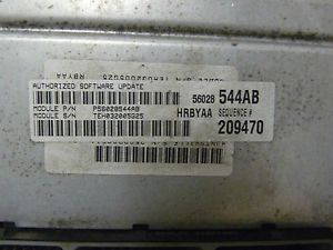 2001 Dodge RAM 1500 5 2L ECU ECM Engine Computer P56028544AB 544AB