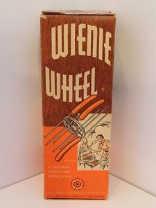 Vintage Wienie Wheel Wil Nor Products in Original Box Hot Dog Cooker